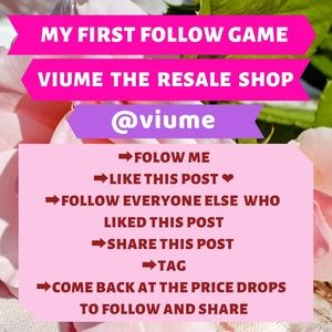 Tops - ❤My first follow game ❤🤗LET'S GROW TOGETHER!!🤗